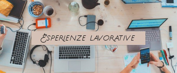 esperienze lavorative